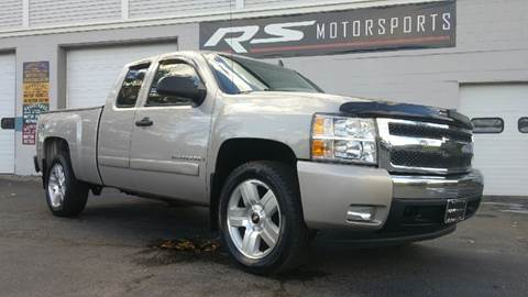 2008 Chevrolet Silverado 1500 for sale at RS Motorsports, Inc. in Canandaigua NY