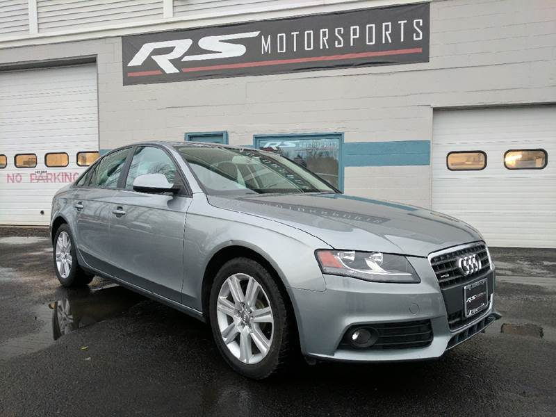 2011 Audi A4 for sale at RS Motorsports, Inc. in Canandaigua NY