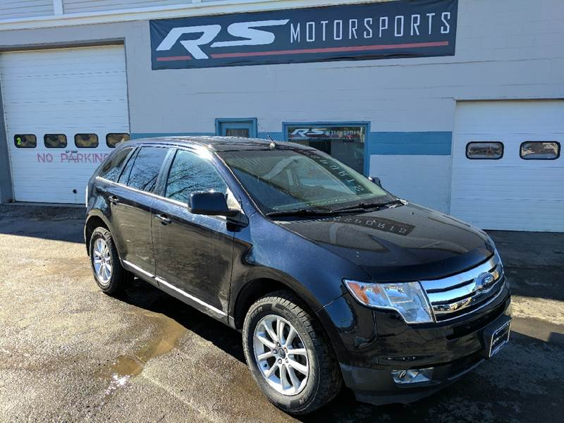 2010 ford edge sel awd 4dr suv in canandaigua ny rs motorsports inc. Black Bedroom Furniture Sets. Home Design Ideas