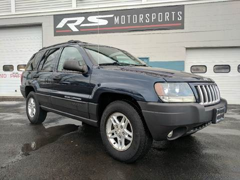 2004 Jeep Grand Cherokee for sale at RS Motorsports, Inc. in Canandaigua NY
