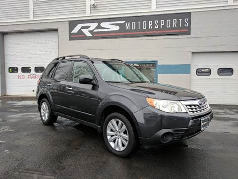 2011 Subaru Forester for sale at RS Motorsports, Inc. in Canandaigua NY
