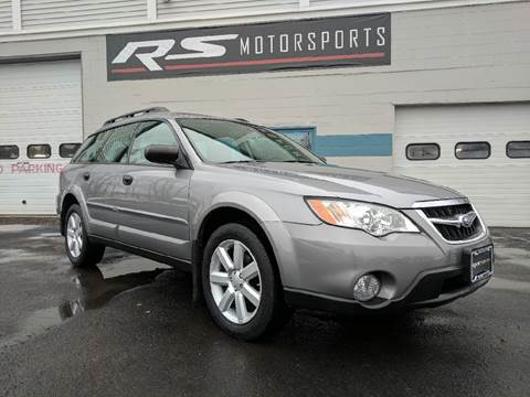 2008 Subaru Outback for sale at RS Motorsports, Inc. in Canandaigua NY