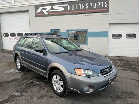 2005 Subaru Outback for sale at RS Motorsports, Inc. in Canandaigua NY