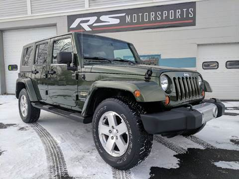 2008 Jeep Wrangler Unlimited for sale at RS Motorsports, Inc. in Canandaigua NY