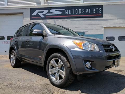 2010 Toyota RAV4 for sale at RS Motorsports, Inc. in Canandaigua NY