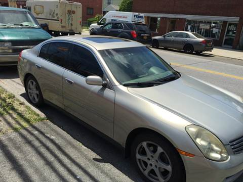 2004 Infiniti G35 for sale in Yonkers NY
