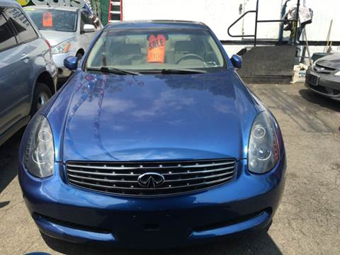 2005 Infiniti G35 for sale in Yonkers NY