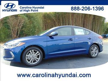 2017 Hyundai Elantra for sale in High Point, NC