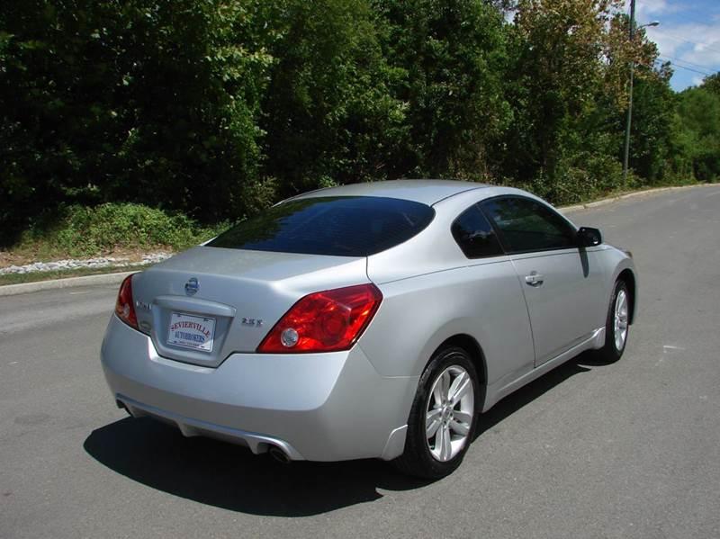 2012 Nissan Altima 2.5 S 2dr Coupe CVT - Sevierville TN