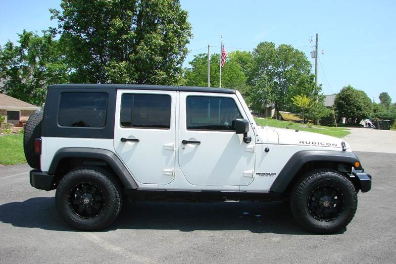 2008 Jeep Wrangler Unlimited 4x4 Rubicon 4dr SUV - Sevierville TN
