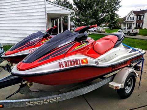 2004 Honda Aquarax ( 2 JETSKIS & TRAILER)
