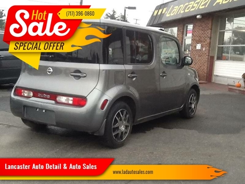 2009 Nissan cube 1.8 S for sale at Lancaster Auto Detail & Auto Sales in Lancaster PA