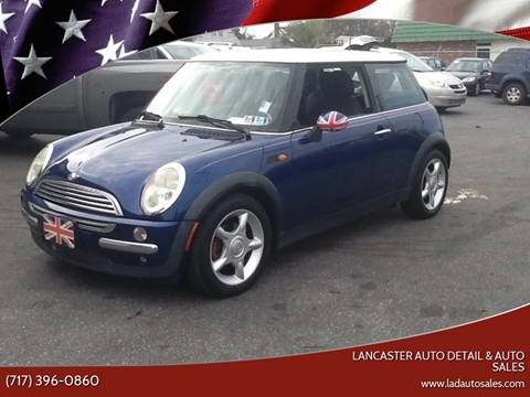 2003 MINI Cooper for sale at Lancaster Auto Detail & Auto Sales in Lancaster PA