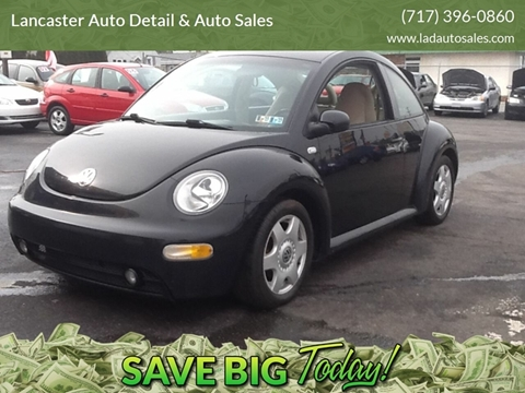 2001 Volkswagen New Beetle for sale at Lancaster Auto Detail & Auto Sales in Lancaster PA