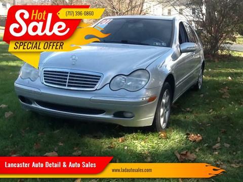 2001 Mercedes-Benz C-Class for sale at Lancaster Auto Detail & Auto Sales in Lancaster PA