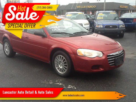 2006 Chrysler Sebring Touring for sale at Lancaster Auto Detail & Auto Sales in Lancaster PA