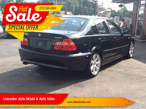 2002 BMW 3 Series 325i for sale at Lancaster Auto Detail & Auto Sales in Lancaster PA