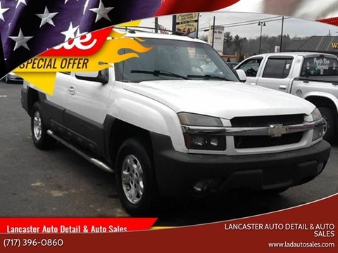 2004 Chevrolet Avalanche for sale at Lancaster Auto Detail & Auto Sales in Lancaster PA