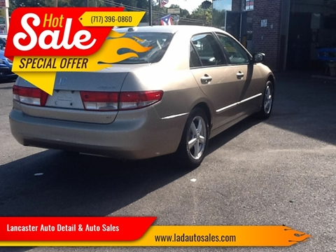 2004 Honda Accord EX w/Leather for sale at Lancaster Auto Detail & Auto Sales in Lancaster PA
