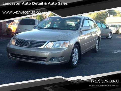 Toyota Lancaster Pa >> 2002 Toyota Avalon For Sale In Lancaster Pa