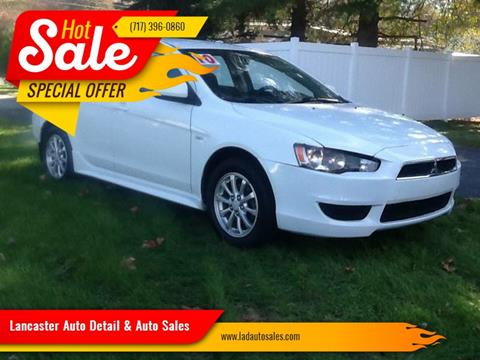 2010 Mitsubishi Lancer for sale at Lancaster Auto Detail & Auto Sales in Lancaster PA