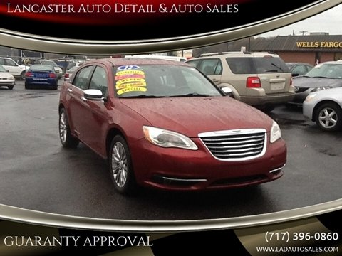 2012 Chrysler 200 Limited for sale at Lancaster Auto Detail & Auto Sales in Lancaster PA