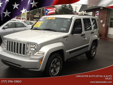 2008 Jeep Liberty Sport for sale at Lancaster Auto Detail & Auto Sales in Lancaster PA