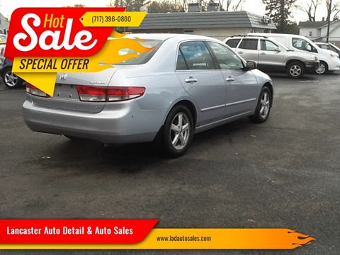 2004 Honda Accord EX for sale at Lancaster Auto Detail & Auto Sales in Lancaster PA