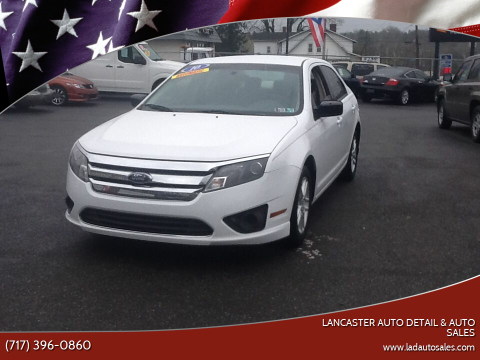 2010 Ford Fusion S for sale at Lancaster Auto Detail & Auto Sales in Lancaster PA