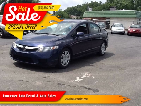 2009 Honda Civic LX for sale at Lancaster Auto Detail & Auto Sales in Lancaster PA