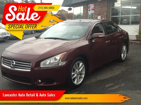 2011 Nissan Maxima 3.5 S for sale at Lancaster Auto Detail & Auto Sales in Lancaster PA
