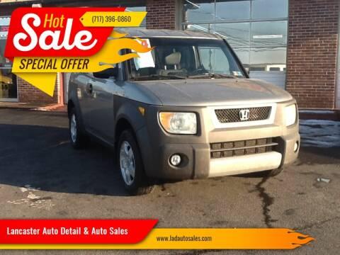 2004 Honda Element for sale at Lancaster Auto Detail & Auto Sales in Lancaster PA