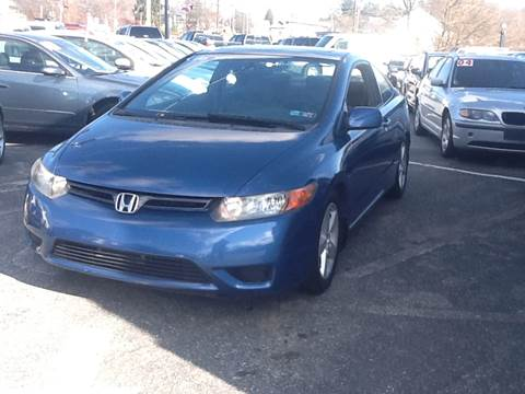 2006 Honda Civic EX for sale at Lancaster Auto Detail & Auto Sales in Lancaster PA