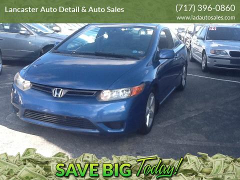 2006 Honda Civic for sale at Lancaster Auto Detail & Auto Sales in Lancaster PA