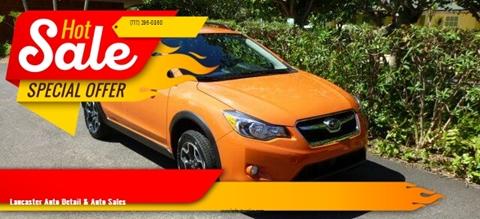 2013 Subaru XV Crosstrek for sale at Lancaster Auto Detail & Auto Sales in Lancaster PA