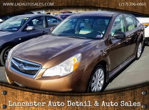 2011 Subaru Legacy 2.5i Limited for sale at Lancaster Auto Detail & Auto Sales in Lancaster PA