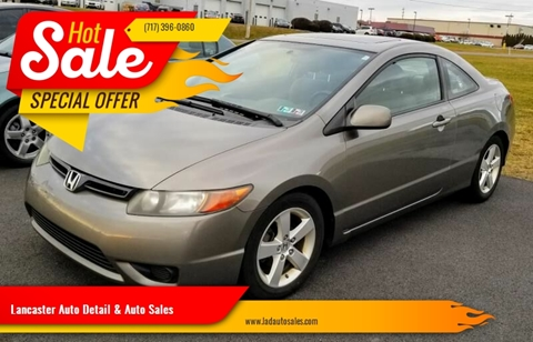2008 Honda Civic EX for sale at Lancaster Auto Detail & Auto Sales in Lancaster PA