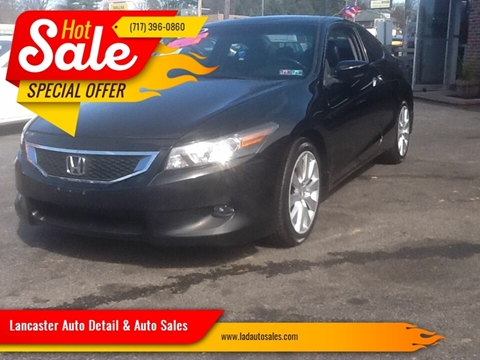 2009 Honda Accord EX-L V6 w/Navi for sale at Lancaster Auto Detail & Auto Sales in Lancaster PA