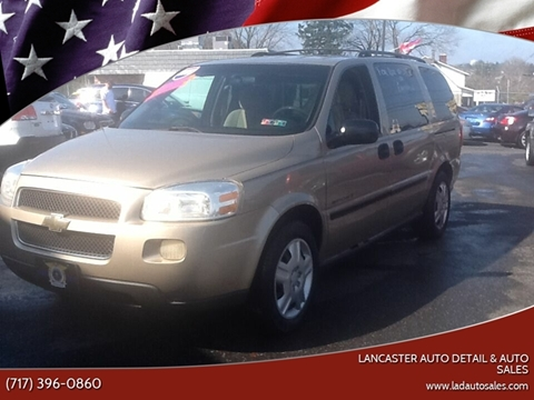 2006 Chevrolet Uplander LS for sale at Lancaster Auto Detail & Auto Sales in Lancaster PA