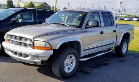 2002 Dodge Dakota for sale at Lancaster Auto Detail & Auto Sales in Lancaster PA
