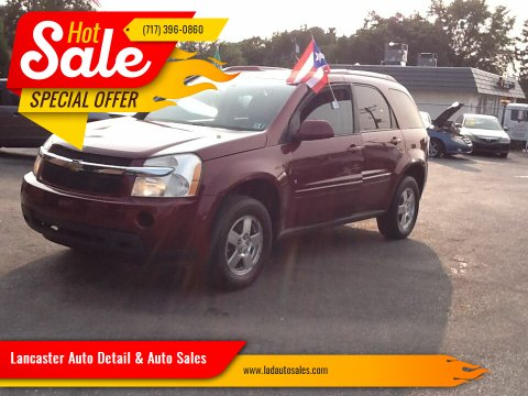 2008 Chevrolet Equinox for sale at Lancaster Auto Detail & Auto Sales in Lancaster PA