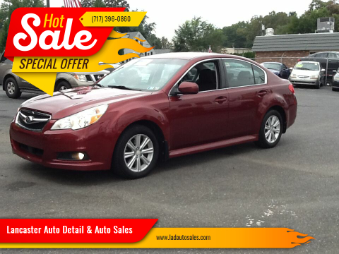 2012 Subaru Legacy for sale at Lancaster Auto Detail & Auto Sales in Lancaster PA
