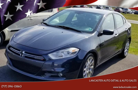2013 Dodge Dart for sale at Lancaster Auto Detail & Auto Sales in Lancaster PA