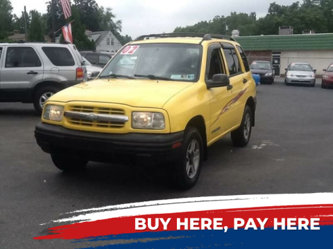 2002 Chevrolet Tracker for sale at Lancaster Auto Detail & Auto Sales in Lancaster PA