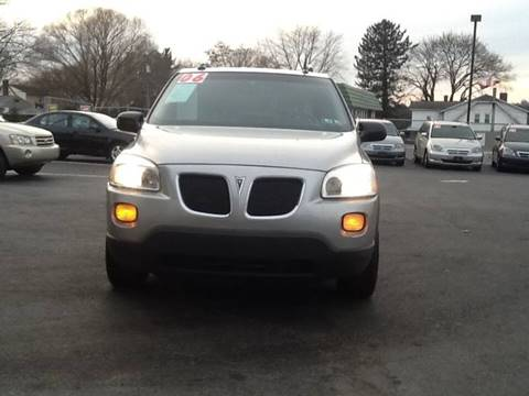 2005 Pontiac Montana SV6 for sale in Lancaster, PA