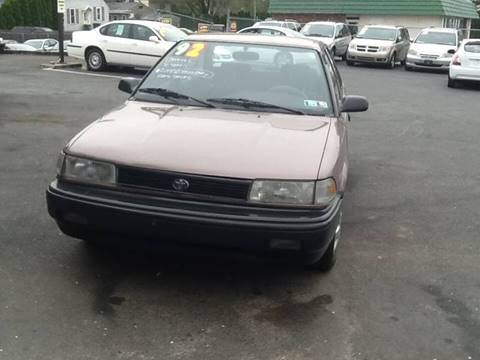1992 Toyota Corolla for sale in Lancaster, PA