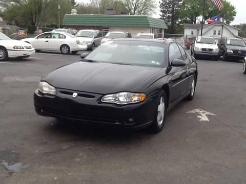 2001 Chevrolet Monte Carlo for sale in Lancaster, PA
