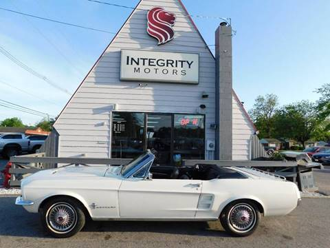 1967 ford mustang for sale for Integrity motors group evansville in