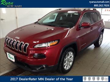 2017 Jeep Cherokee for sale in Buffalo, MN