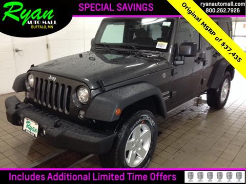 2017 Jeep Wrangler Unlimited for sale in Buffalo, MN